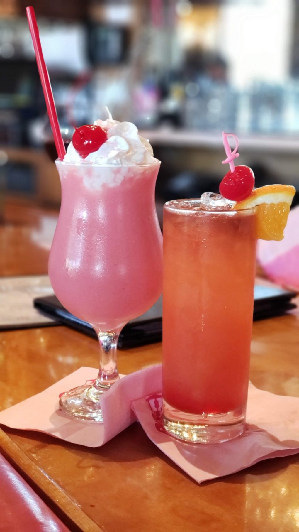 madonna inn pink cloud rum punch