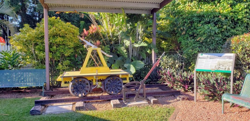 kuranda scenic railway push cart
