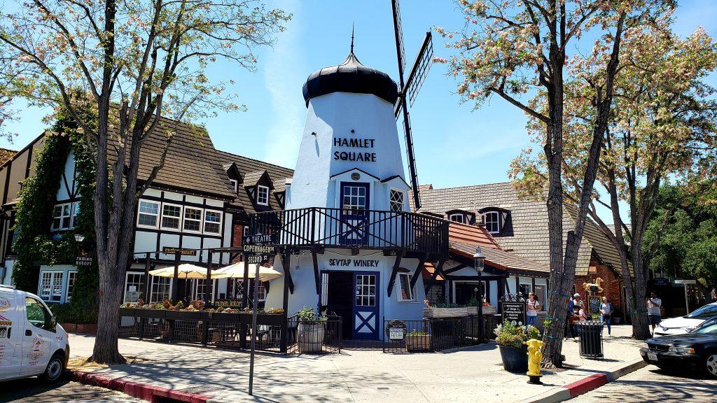 Hamlet Square windmill