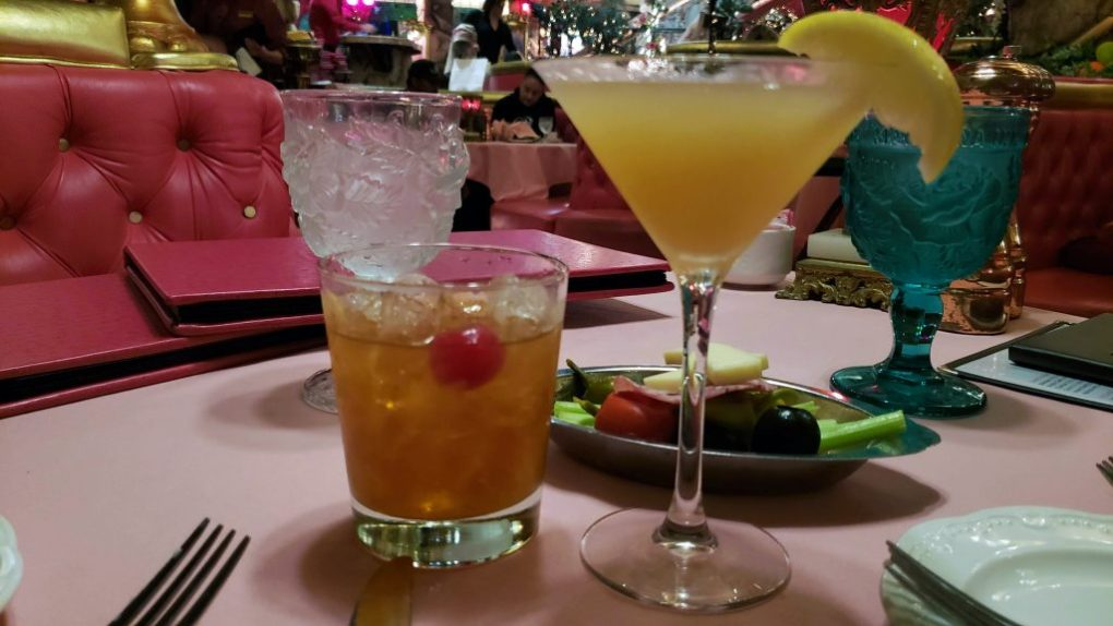 madonna inn flora dora and old fashion cocktails