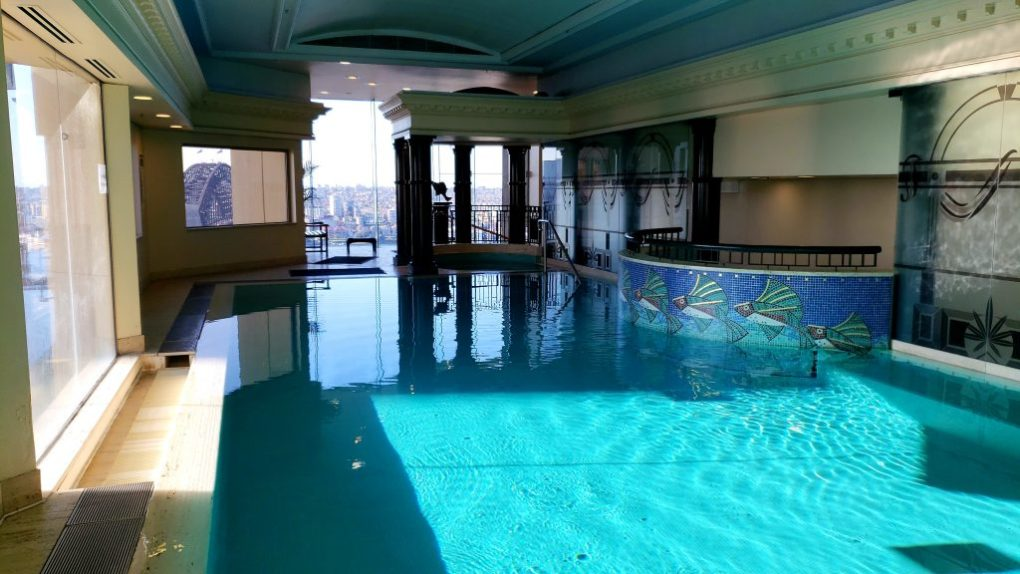 quay west indoor pool