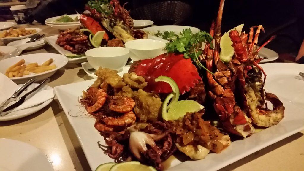 uprising food seafood feast