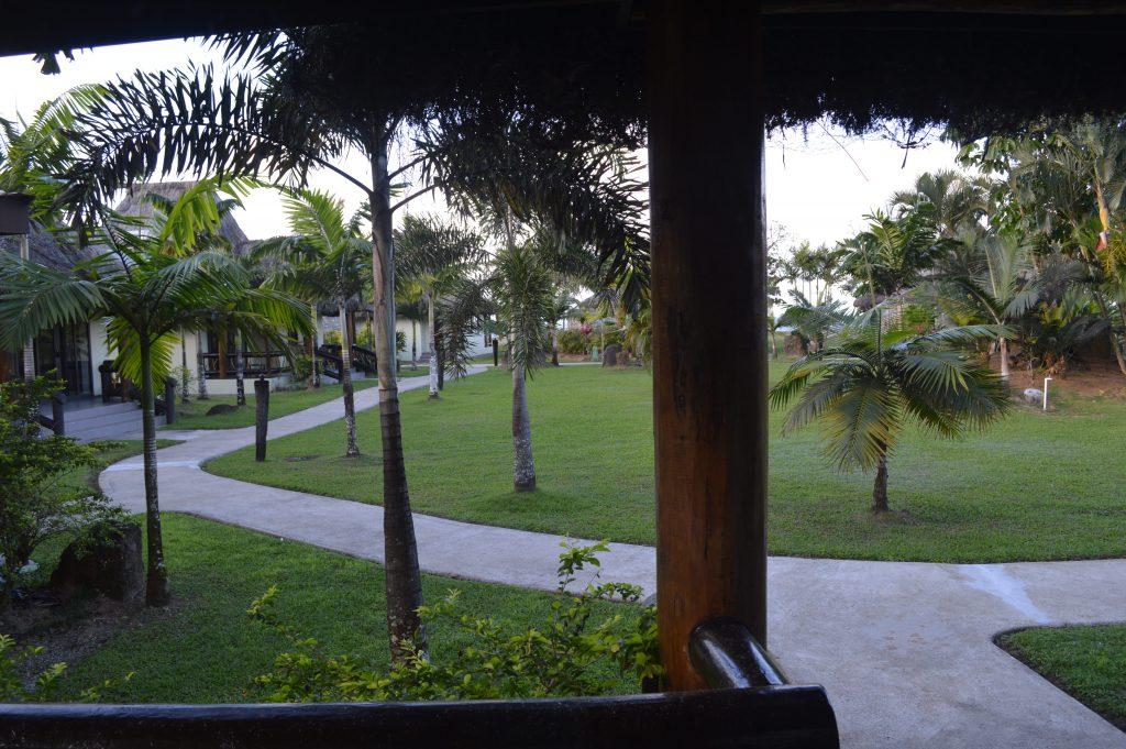 uprising villa garden view