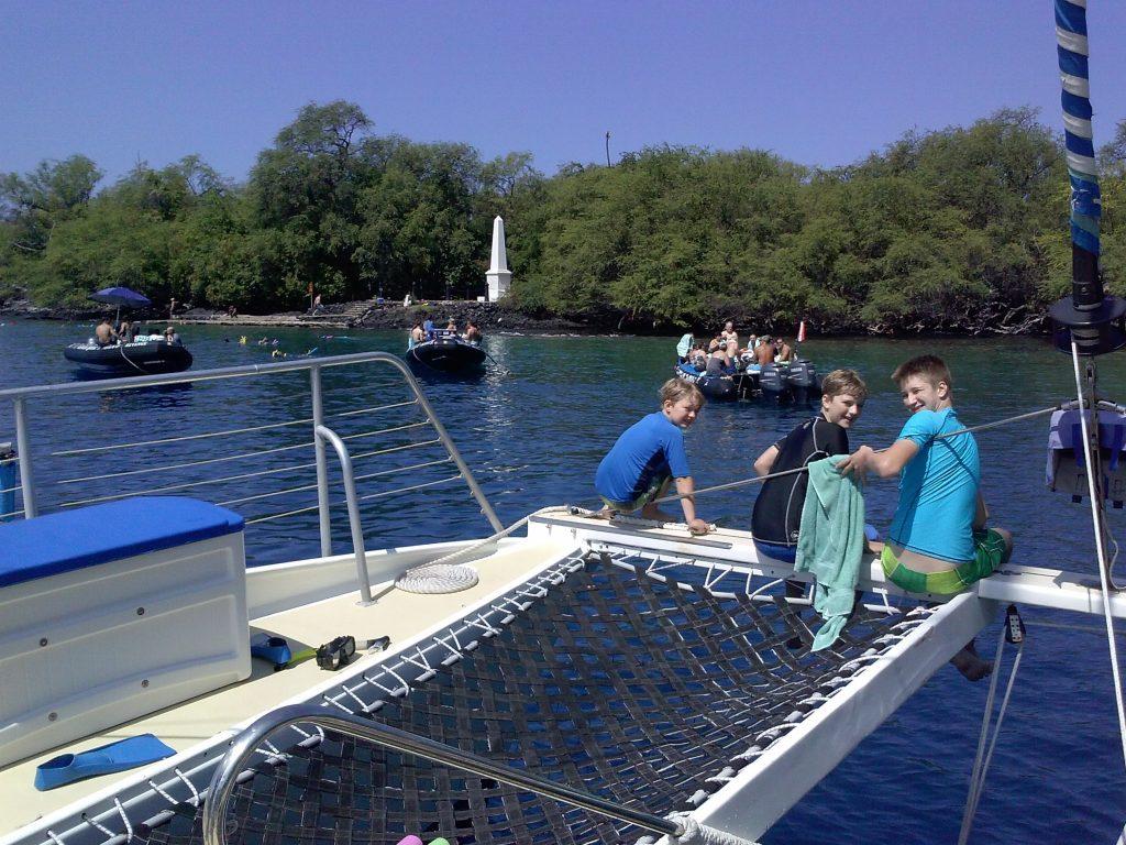 Captain Cooks Monument Sea Paradise Tours