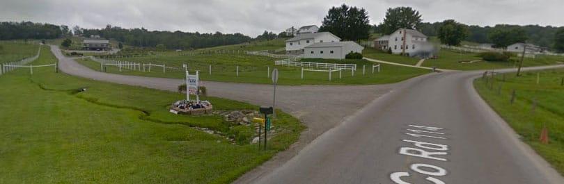 google street view the farm