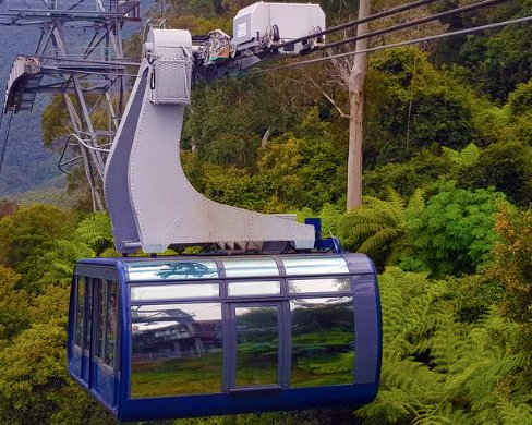 scenic world cableway car