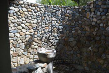 uprising villa outdoor shower