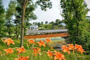 wooden bridge amish zoo
